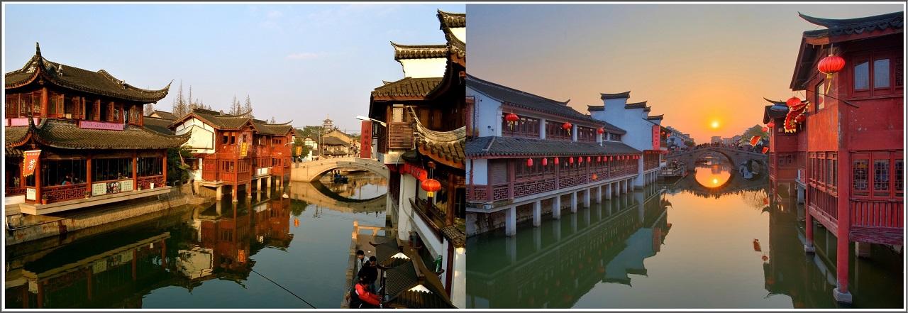 Qibao-river